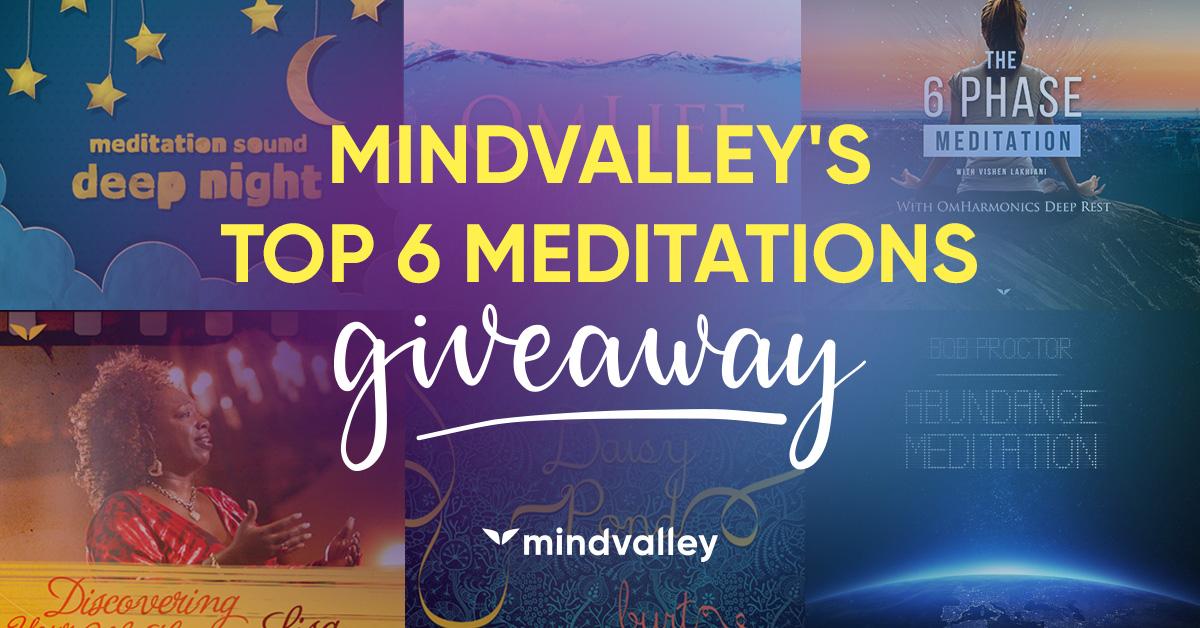 Mindvalley's Top 6 Meditation Tracks